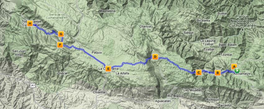 More Boots & Packs Than Bikes & Maps: Hiking Nebaj to Todos Santos ...