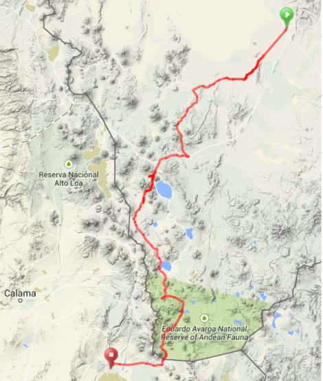 Map - Lagunas