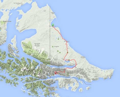 Argentine Tierra del Fuego Route