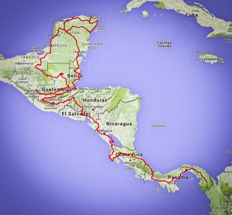 Central America LR