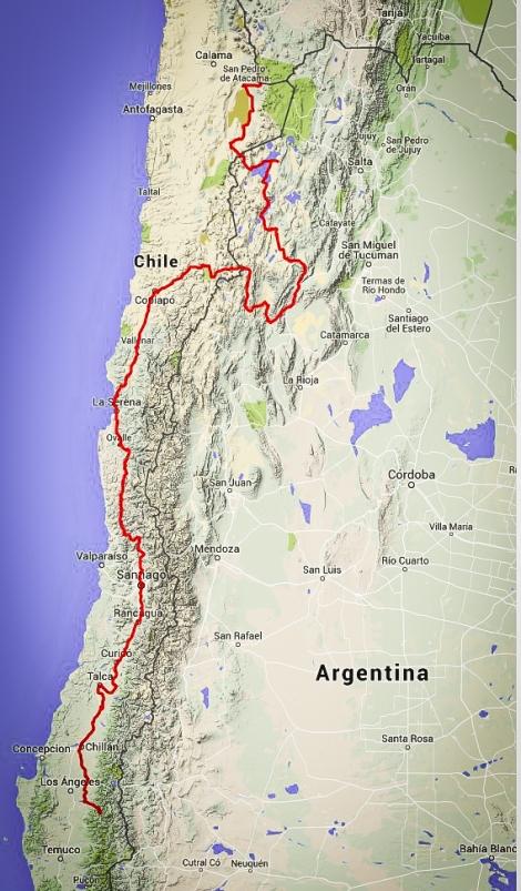 N Chile Argentina LR