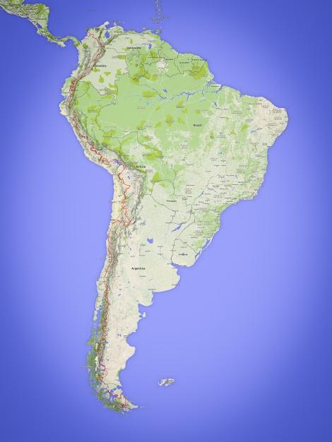 South America LR