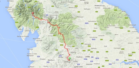 Hebden Bridge to Ambleside